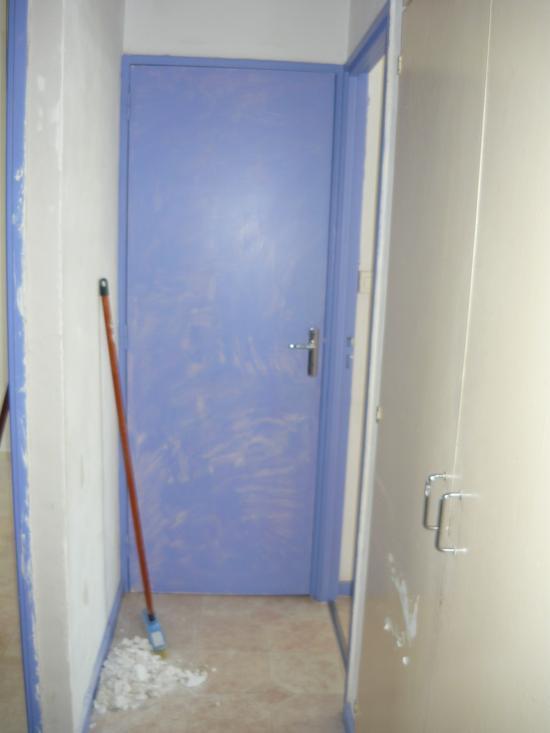Dégagement accès chambres/sdb/wc avant travaux