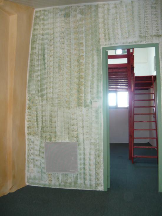 Mur chambre étage