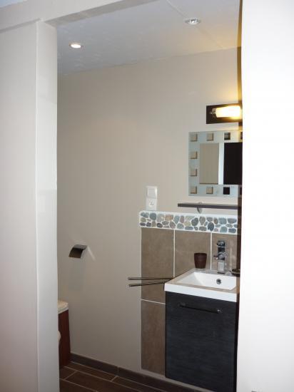 ouverture en lieu et place du mur avec les miroirs