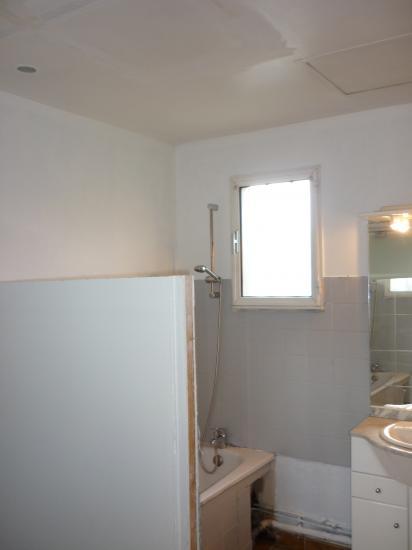 vue avant travaux sde avec wc à droite