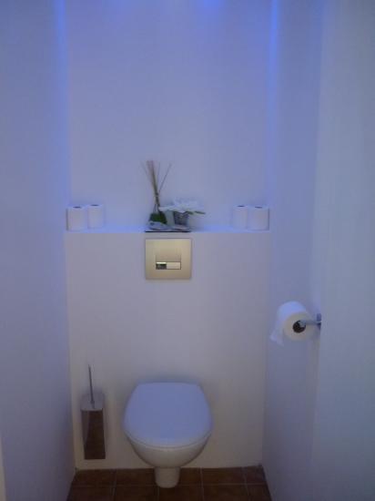 le wc terminé