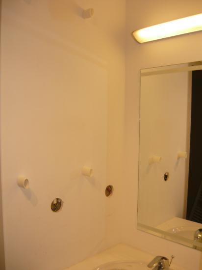 démontage du radiateur, miroir...