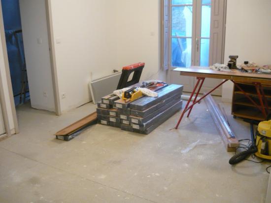 préparation du chantier