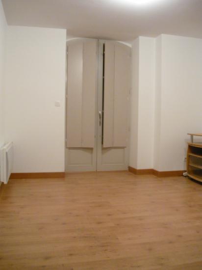séjour/salon avant remise en place du mobilier
