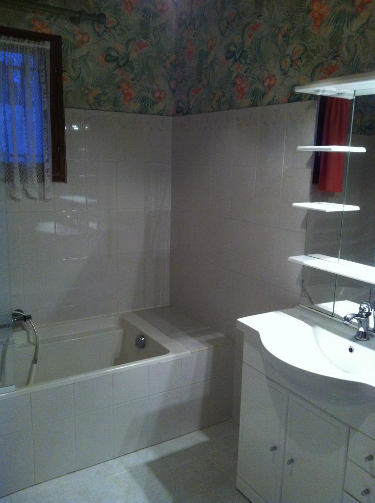 Renovation d une sdb en sde avec douche italienne -  aubignan