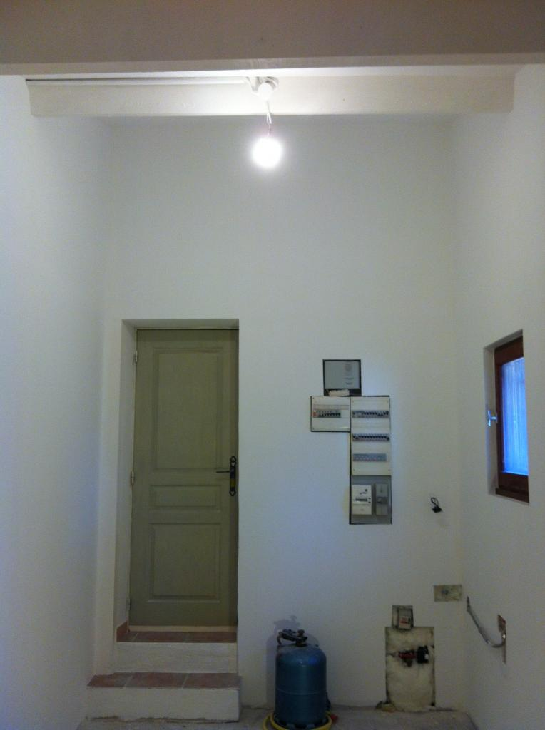 peinture finition blanche