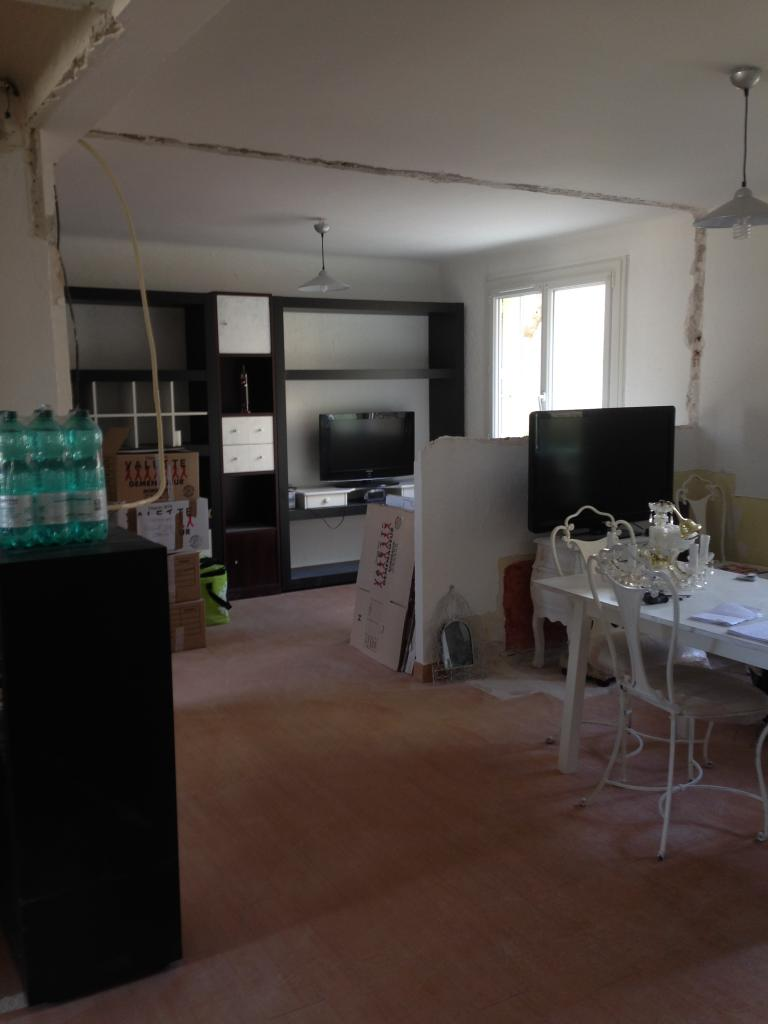 Vue entree appartement