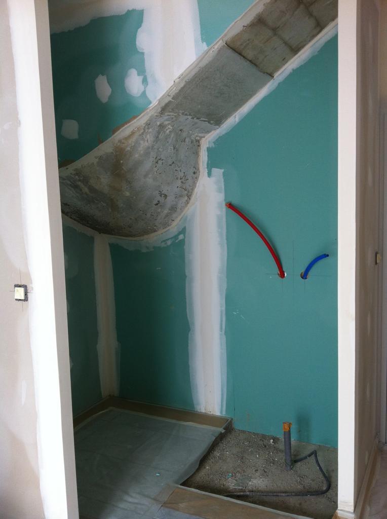 Murs et plafond avant demarrage travaux