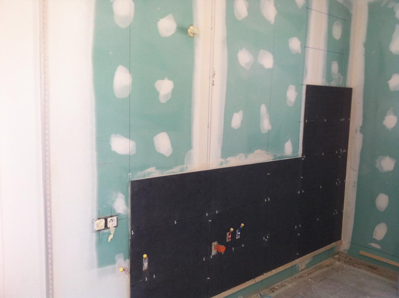 realisation d 39 une salle de bains douche et baignoire camaret. Black Bedroom Furniture Sets. Home Design Ideas