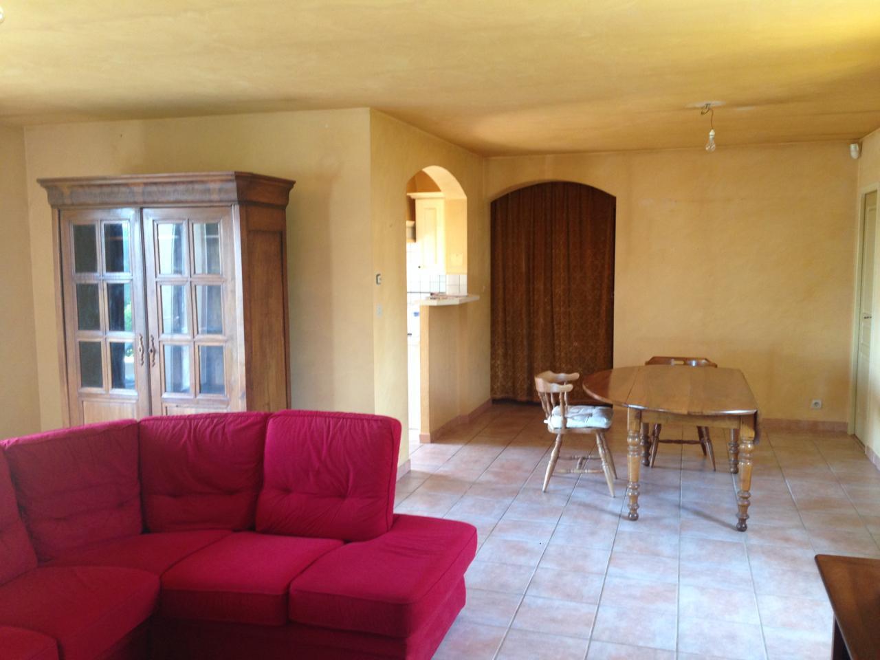 Murs et plafond séjour/salon à l origine