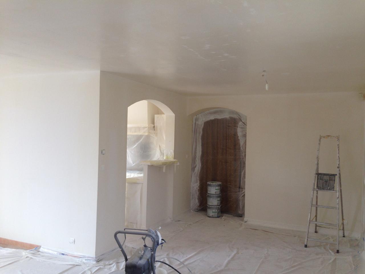 Application sous couche blanc opacifiant glycero - Sous couche sur peinture glycero ...