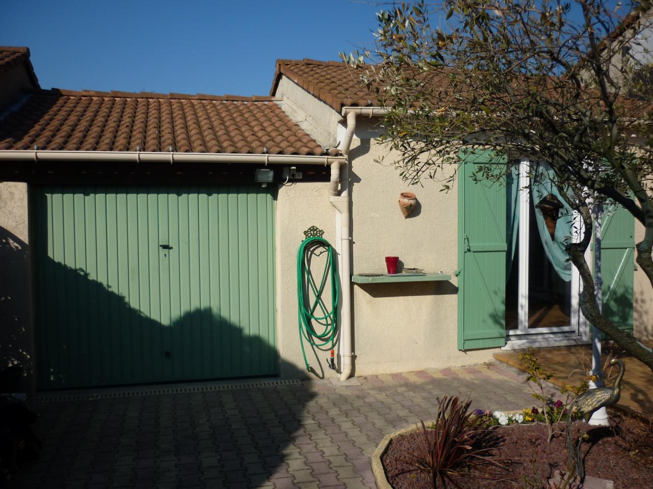 facade coté garage