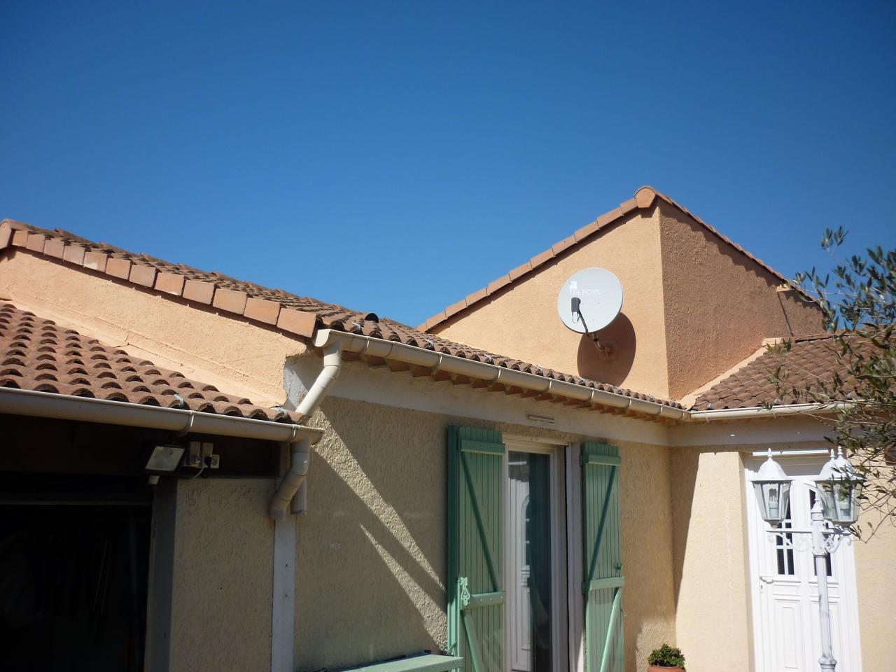 Fin travaux renovation partie haute de la villa