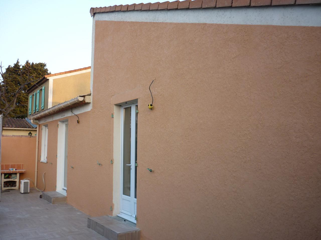 facade arriere renovée